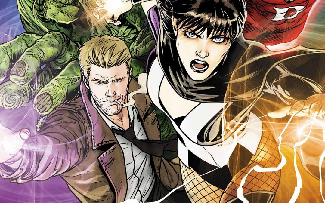 Justice League Dark Concept Art Character Designs Surface