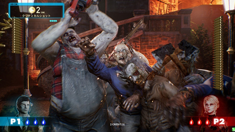 New House Of The Dead Arcade Game Coming From Sega The Dark Carnival