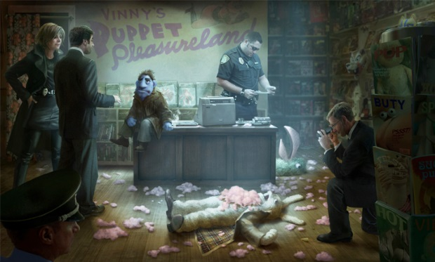 The Happytime Murders: first trailer for puppet dark comedy