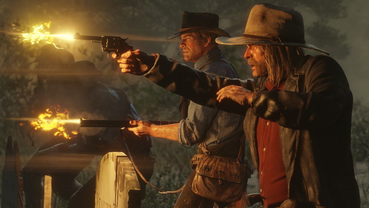 Launch trailer for Red Dead Redemption 2