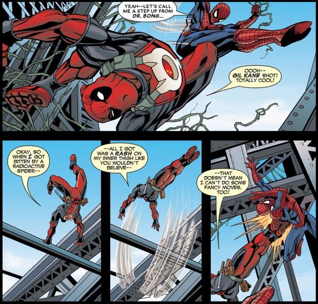 Deadpool And Spider Man 1: Spider-man-deadpool-cable1.jpg