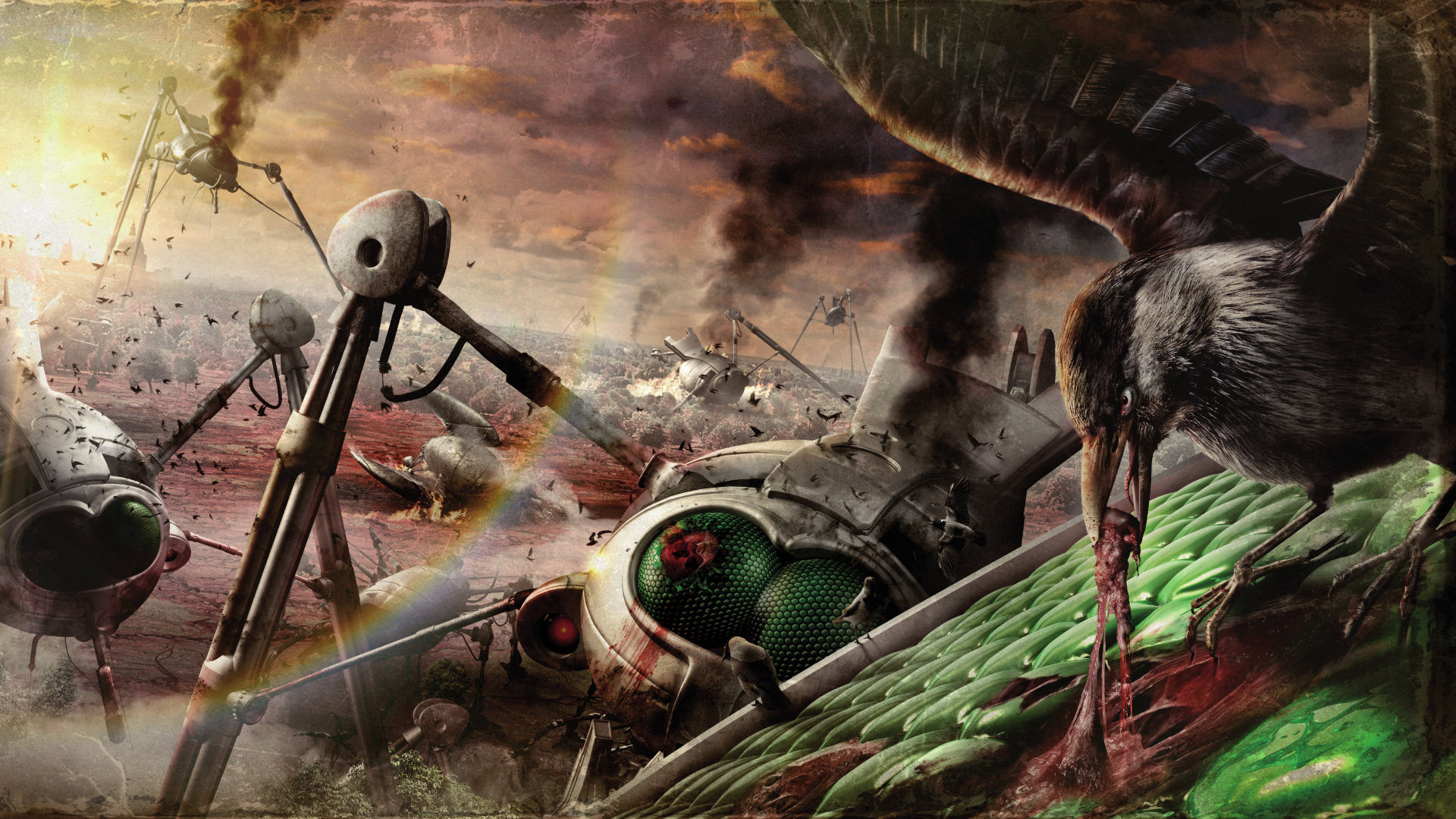 The War Of The Worlds Audible Audiobook Promo Jpg The Dark Carnival