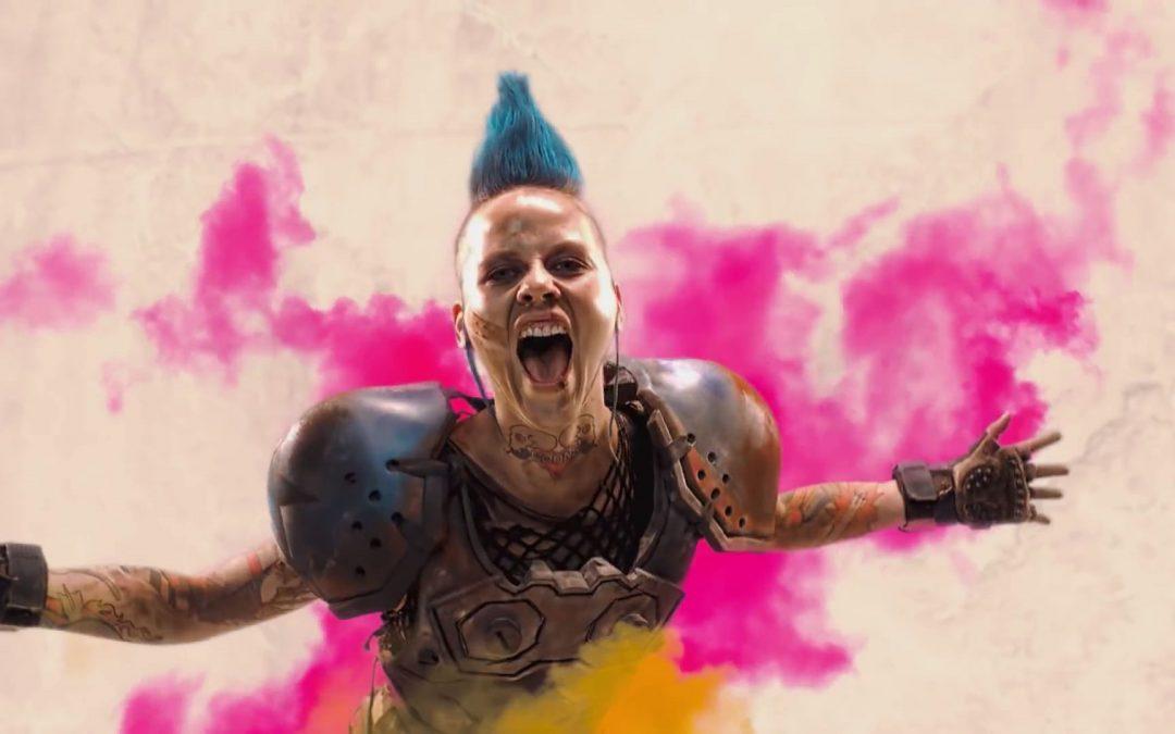 Rage 2 first impressions: maniacal mayhem, bathed in blood