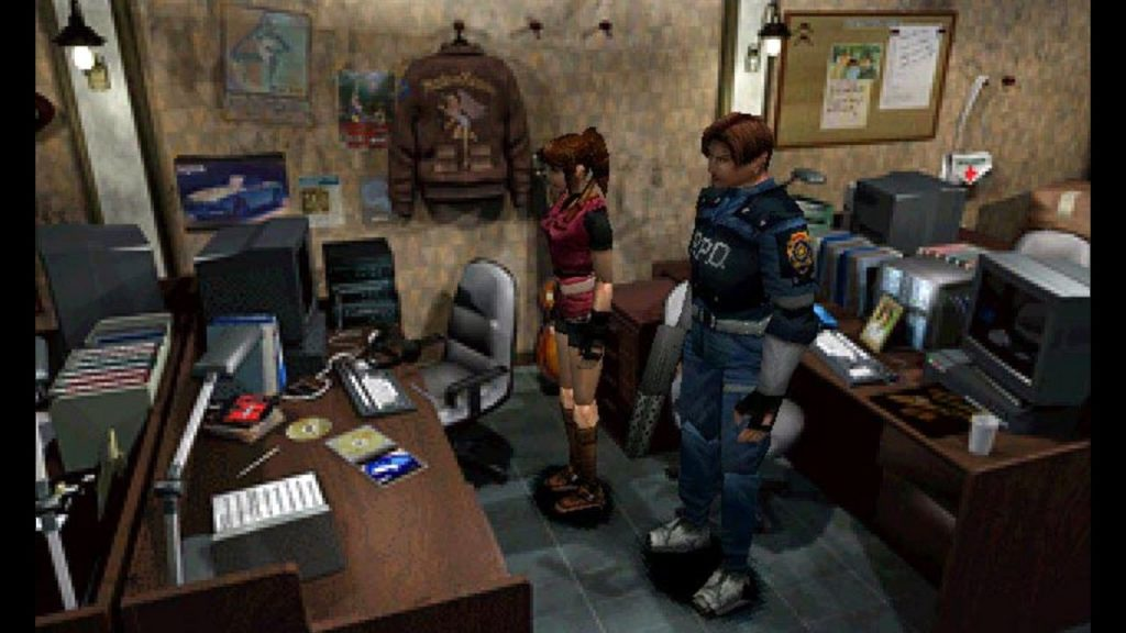 Resident Evil 2 was accidentally a two-disc game