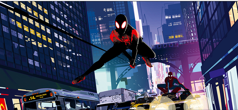Spider-Man: Into The Spider-Verse DVD/Blu-ray release date and bonus features