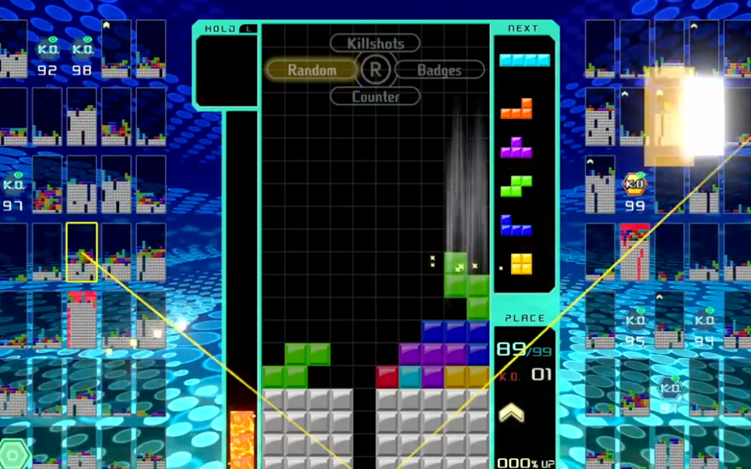 Tetris 99 battle royale game available now for Nintendo Switch