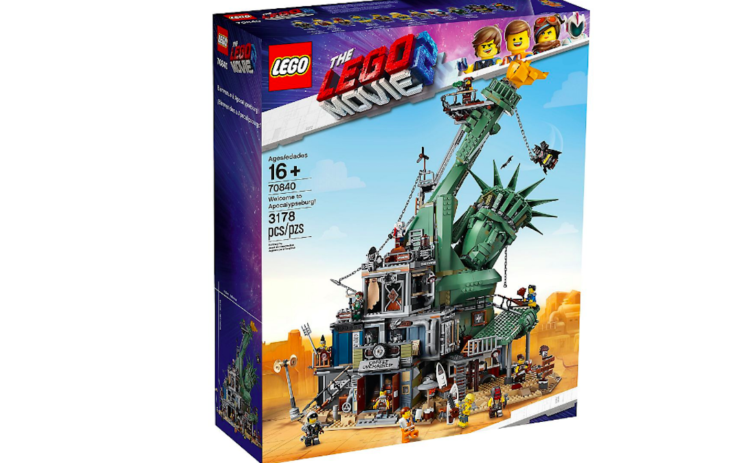 LEGO competition! Fancy winning a massive 'Apocalypseburg' set from The LEGO Movie 2?
