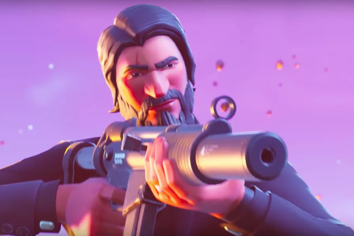 John Wick's home has been added to Fortnite